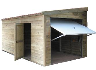 garage 1 pente. Black Bedroom Furniture Sets. Home Design Ideas